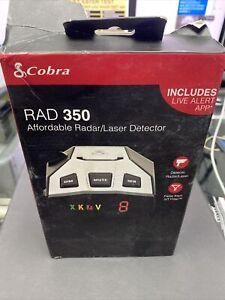 Cobra RAD 350 Radar/Laser Detector New