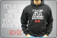 FELPA UNISEX O BIMBO AC/DC ANGUS YOUNG It's a long way to the top acdc