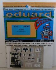 Eduard 1/72 SS207 zoom etch pour le hasegawa F-4B/N phantom ii kit