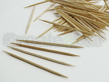 500 Wooden Cockail Sticks - Buffet Picks - Toothpicks - Double Pointed - 65mm