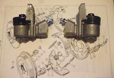 (x2) Humber Hawk Imperial SUPER SNIPE CILINDRI Ruota Freno Posteriore (OTTOBRE 60-67)