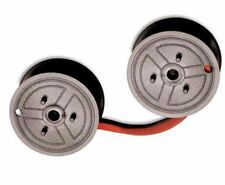"6 Universal Seiko Calculator Spool ""C"" Wind, Black/Red Long Life Ribbon"