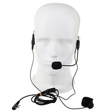 Finger PTT 2 Pin Earphone Mic Headset For Kenwood Baofeng Radio Walkie Talkie
