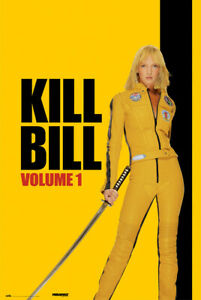 Kill Bill Vol. 1 - Movie Poster (Regular Style - Uma Thurman / Katana) (24 X 36)