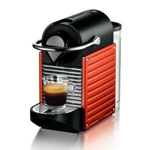 Nespresso Pixie C61 Capsule Coffee Machine (Red)
