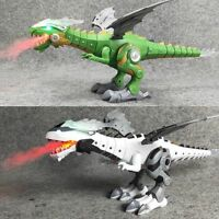 Lifelike Fire Breathing Dinosaurs Spray Mighty Dragon Walking Multi Action Sound