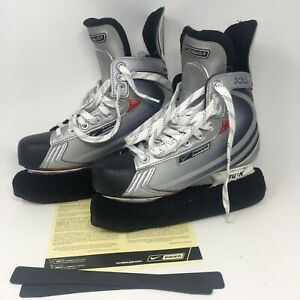 NBH VAPOR XXII SKATE JR  (NIKEBAUER.COM) GRAY AND BLACK SIZE US 6.5 EUR 39 $150