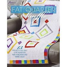 Fat Quarter Shuffle: Just a 6 pack of fat quarters away from a fabulous quilt (Q