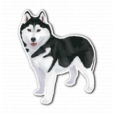 Alaskan Malamute Siberian Husky Dog Bumper Laptop Truck Car Sticker