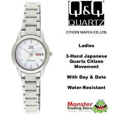 AUSSIE SELLER LADIES DRESS WATCH CITIZEN MADE A161-201 DAY/DATE P$129. WARRANTY