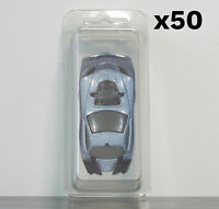 50 x Premium Loose Blister Cases for Matchbox Hotwheels Vehicles & Cars