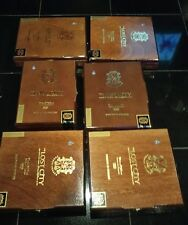 LOT 3 OF 6 OPUS X LOST CITY EMPTY WOODEN CIGAR BOXES