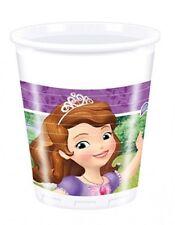 Set 8 Bicchieri Plastica Principessa Sofia  PS 10688