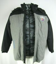 Oklahoma City Thunder NBA G-III Men's Systems Jacket with Vest
