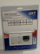 New Lux Dmh110 Digital Thermostat Large Lighted Display Air Conditioning Heater