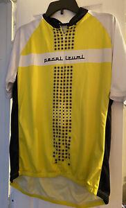 Pearl Izumi Men's X-Large Cycling Jersey Yellow, White, Black Select Series