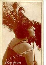 SEX-LOUISE GLAUM-ARCADE CARD-1920-SILENT FILM! G