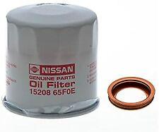 GENUINE OEM Nissan Engine Oil Filter Drain Plug Washer (15208-65F0E+11026-JA00A)