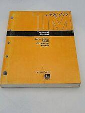 John Deere 595d Excavator Technical Repair Service Shop Manual Tm1445 Feb 89