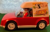 Playmobil 4411 Bakery Delivery Truck  Car for Food Shop Complete
