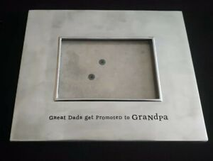 Hallmark Dads Make Great Grandpa's *Fathers Day*Birthday* Silver Tone 3x5