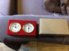Horloges mécaniques pour jeu d'échecs annees 80 made in west germany
