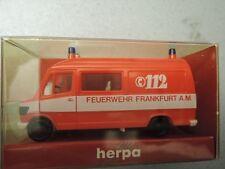 Herpa 4114 MB 207 RTW  Feuerwehr Frankfurt in OVP aus Sammlung (3)