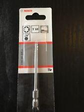 Bosch Extra Hard Torx Screwdriver Bit T10 89mm Pack of 1