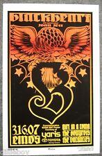 Blackheart Joan Jett  SXSW Music Fest Concert Poster Austin Texas
