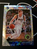 Luka Doncic 2019-20 NBA Hoops Premium Stock Silver Scope Prizm SP PSA Ready