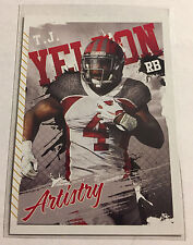 2015 Sage Hit Artistry T.J. Yeldon Rookie RC #ART-12 Jaguars Alabama