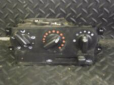 2001 NISSAN MICRA 1.0 S 3DR HEATER CONTROL PANEL 70302-30733