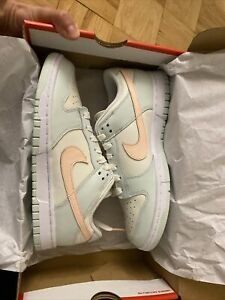 NEW Nike Dunk Low Shoes Barely Green DD1503 104 Women's Size 8.5 Men's 7