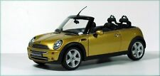 MINI COOPER CONVERTIBLE 1:18 DIE CAST KYOSHO GOLD