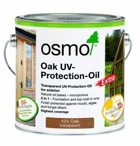 Osmo UV Protection Oil Extra 425/420/428 750ml & 2.5L