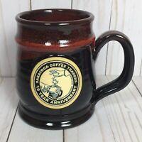 Saratoga Coffee Traders Deneen Pottery Mug 10 YEAR ANNIVERSARY Stein 316 of 500