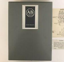 ALLEN BRADLEY 702LP-AAWF94 CONTACTOR 20AMP 277V 60HZ 4POLE NEMA1