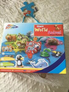 BRAND NEW GRAFIX GIANT WORLD ANIMAL PUZZLE AGE 3-6