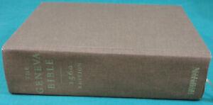 The GENEVA Holy BIBLE 1560 Edition Hendrickson Bibles Cloth Hardcover
