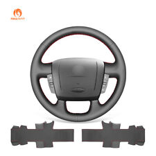 DIY PU Leather Steering Wheel Cover for Peugeot Boxer Citroen Jumper Fiat Ducato