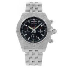 Relojes de pulsera Breitling acero inoxidable cronógrafo