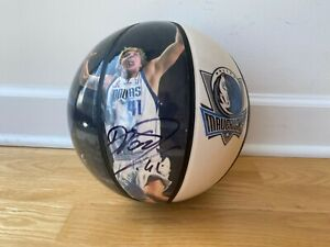 Dirk Nowitzki Dallas Mavericks 2011 NBA Champion Signed Photo Panel Ball - RARE