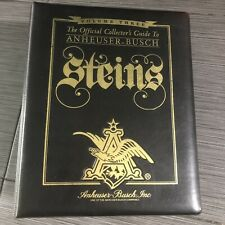 Anheuser-Busch Beer Steins Collector's Guide Volume Three