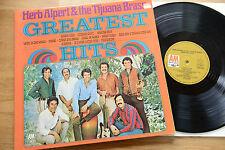 HERB ALPERT & Tijuana Brass greatest hits A&M 2320 003 gatefold