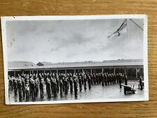 Vintage Postcard, Royal Navy, HMS Ganges, New Recruits, Real Photo
