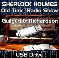 SHERLOCK HOLMES - OLD TIME RADIO SHOW DRAMA USB - 19 EPISODES MP3