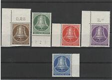 BERLIN 1953 Satz  postfrisch - Mi. Nr. 101 - 105 Glocken Klöppel Mitte