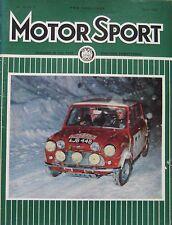 Motor Sport magazine March 1965