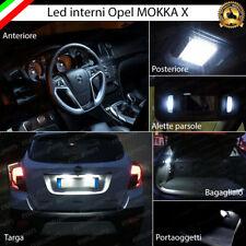 KIT FULL LED INTERNI OPEL MOKKA X RESTYLING COMPLETO + LUCI TARGA LED 6000K