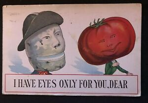 Fantasy Face Veggie Heads~Comic~ I Only Have Eyes For You~Anthropomorphic -h604
